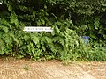 Thorncombe, sign for School House House - geograph.org.uk - 1383175.jpg