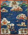 Tibet Buddhist parable of the Arhats.jpg