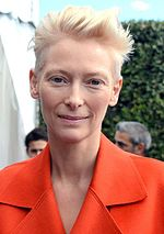 Photo of Tilda Swinton attending the 2013 Deauville Film Festival