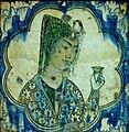 Tile girl - Iran - Louvre museum - AD 27814.jpg