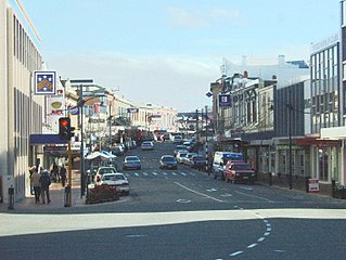 Timaru Secondary urban area in Canterbury, New Zealand