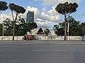 Tirana pyramid during 2021 reconstruction.jpg