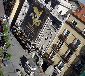 Teatro Nuevo Apolo - Teatro Nuevo Apolo on the Plaza de Tirso de Molina