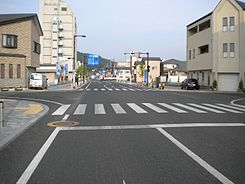 Tochigi prefectural road No.4 on Kanuma city (2).jpg