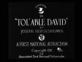 Tol'able David - Wikipedia