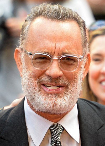 Picture of an author: Tom Hanks