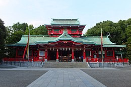 富冈八幡宫本殿