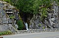 Top of Christine Falls, Mount Rainier National Park, from Christine Falls Bridge 01.jpg