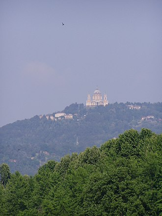 Milano–Torino - The Superga hill, historic decisive point of the race