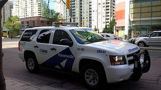 Toronto Paramedic Services - Current Emergency Response Unit