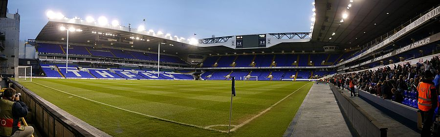 A Panorama Of White Hart Lane From The North West Corner East Was Removed For Duration 2016 17 Football Season