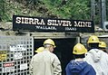 Touring Sierra Silver Mine, 1997 Wallace, Idaho. (33226500814).jpg