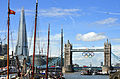 Tower Bridge & The Shard - Aug 2012.jpg