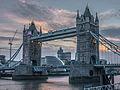 Tower Bridge at dusk (10029391574).jpg