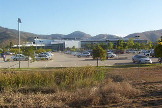Townsville Hospital - Townsville Hospital from the Douglas Arterial Road