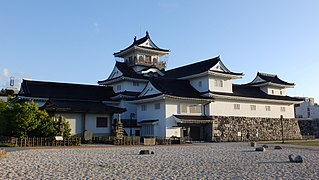 Toyama Castle Building in Toyama Prefecture, Japan