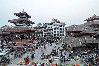 Kathmandu Durbar Square - Trailokya Mohan Narayan Temple