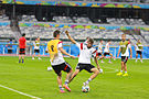 Training Germany national team before the match against Brazil at the FIFA World Cup 2014-07-07 (10).jpg