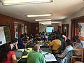 Training in Wikimania 2016.jpg