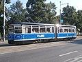 Tram 168 at Viru Stop Kesklinn Tallinn 26 July 2018.jpg