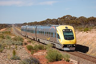 <i>The Prospector</i> (train) train service in Western Australia