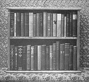 Traveling library - Image: Traveling Library box ca 1901 Vermont Free Public Library Commission 2