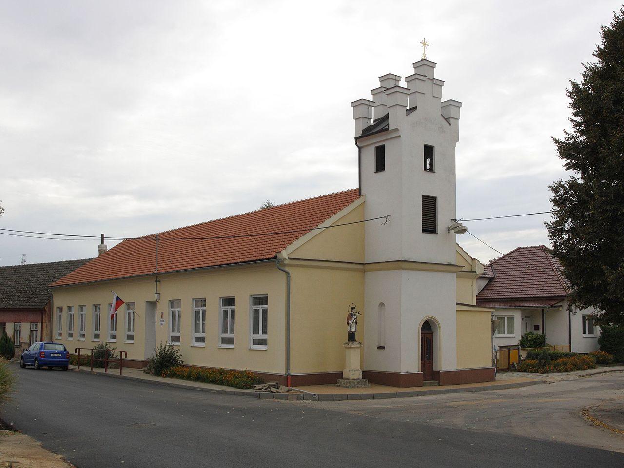 Zvonice Trboušany