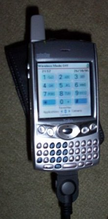 treo 600 wikipedia rh en wikipedia org Palm Treo 650 Palm Treo 650