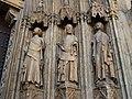 Tres apòstols de la porta dels Apòstols de la catedral de València.JPG