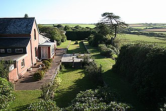 North Cornwall Railway - The old station of Tresmeer
