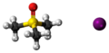 Trimethylsulfoxonium iodide 3D ball.png