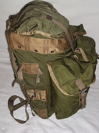 English: Tropical Rucksack Side View