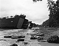 Truck exiting from a LST in Cape Gloucester.jpg