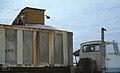 Truck receives salt in salina. Vehicles treated but still rust if left 10 days. (37983853915).jpg