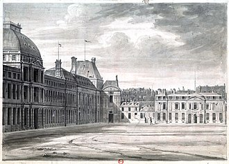Committee of General Security - The Committee of General Security was located in Hôtel de Brionne on the right; it gathered on the first floor. (The Tuileries Palace, which housed the Convention, is on the left)