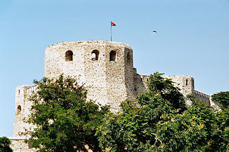 Tenedos - Part of the fortress on Bozcaada