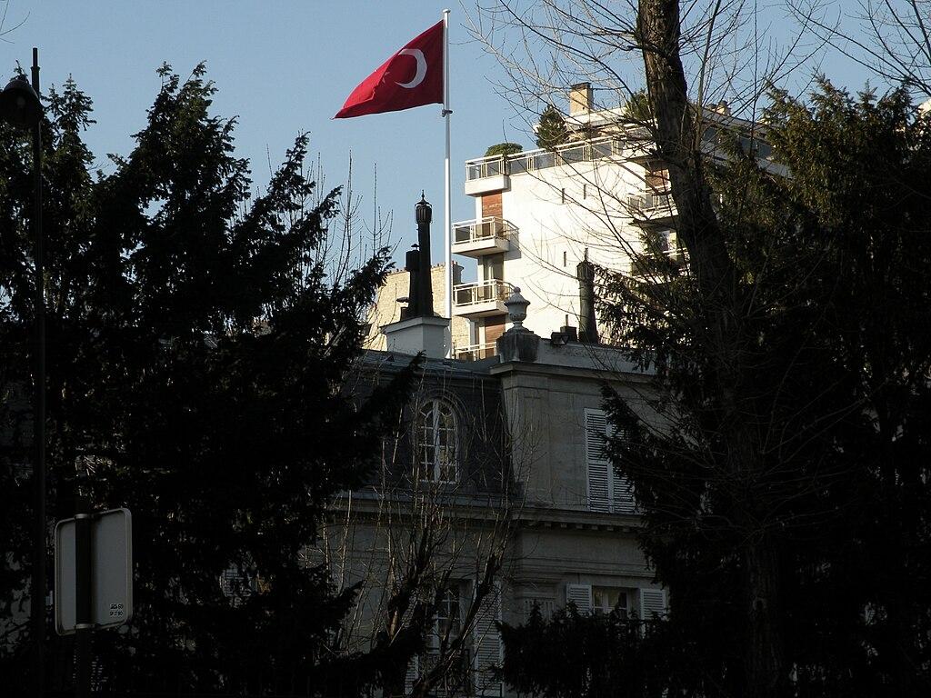 Turkish embassy in Paris