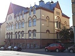 Turun suomalainen tyttökoulu Aurakatu 16 - Ajapaik-rephoto-2019-09-22 12-12-18.jpg