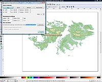 Export a preview of the vectorised topographic map