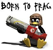 Tux Born to Frag