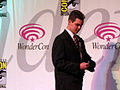 Two-Face cosplayer at WonderCon 2010 Masquerade 1.JPG