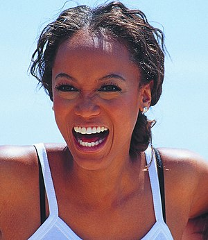 Tyra Banks - Banks at Cannes Film Festival in 2000