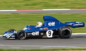 Tyrrell 006 - A Tyrrell 006, driven by John Delane, at the 2007 Silverstone Classic meeting, July 2007.