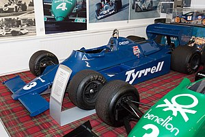 Tyrrell 010 - Image: Tyrrell 010 front left Donington Grand Prix Collection