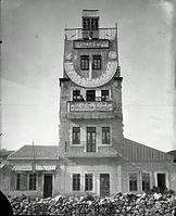 Tzadok Basan. Zoharei Hama synagogue and Tiferet Zion Synagogue on Jaffa Road, Jerusalem. 1920-1929.II.jpg