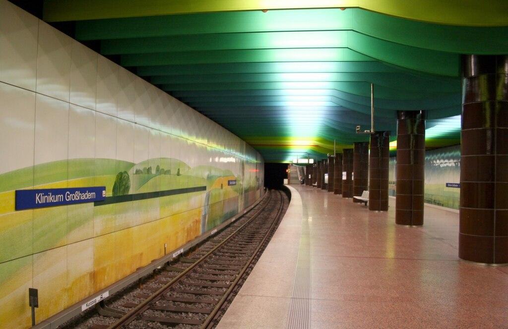 U-Bahnhof Klinikum Großhadern 01
