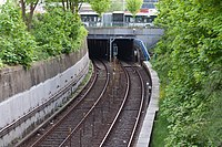 U-Bahnlinie U3 (Hamburg-St. Pauli).Tunneleinfahrt Richtung Feldstraße.ajb.jpg