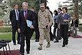 U.S. Ambassador to Afghanistan Ryan Crocker, second from left, and U.S. Marine Corps Gen. John Allen, center right, the commander of the International Security Assistance Force and U.S. Forces Afghanistan 111020-S-PA947-457.jpg
