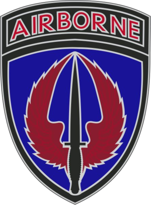 U.S. Army Special Operations Aviation Command - USASOAC combat service identification badge