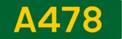 A478 road shield
